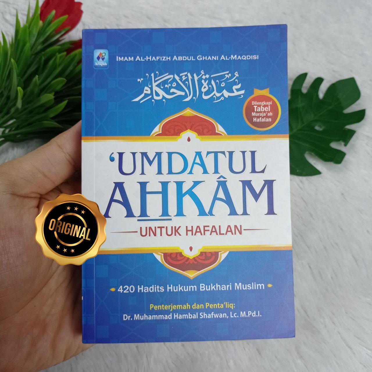 Buku Umdatul Ahkam Untuk Hafalan Dilengkapi Tabel Murajaah