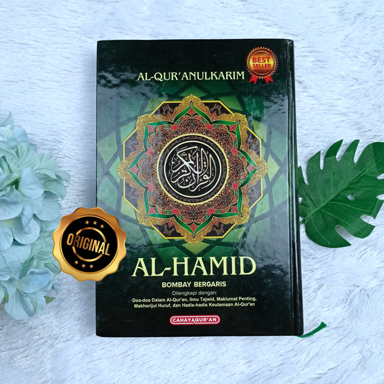Al-Qur'an Al-Hamid Bombay Bergaris Dilengkapi Tajwid A5