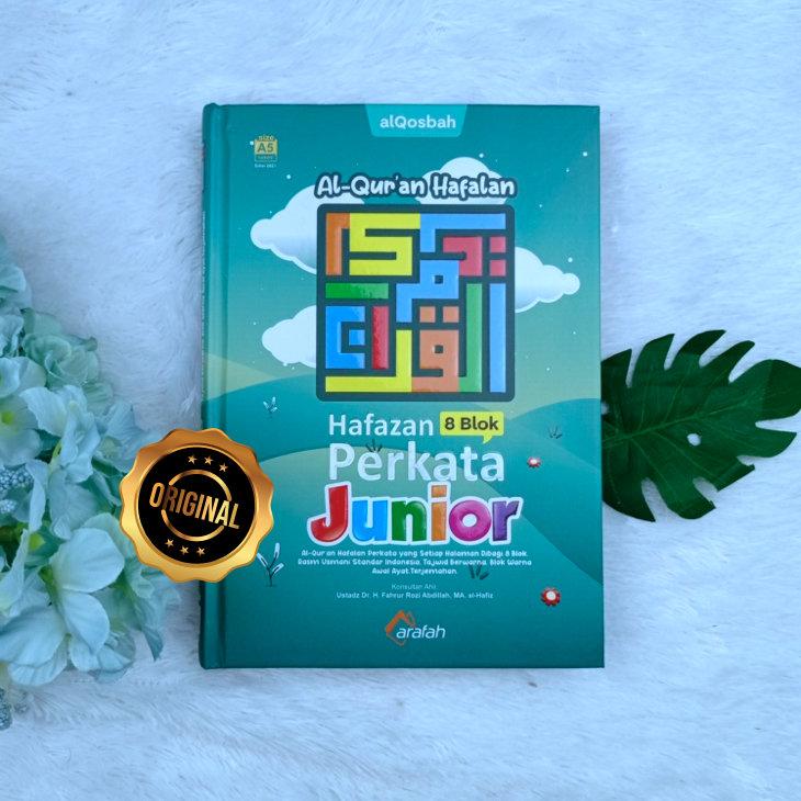 Al-Qur'an Hafazan Perkata Junior 8 Blok Berwarna Untuk Hafalan A5