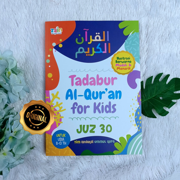 Buku Anak Tadabur Al-Qur'an For Kids Juz 30