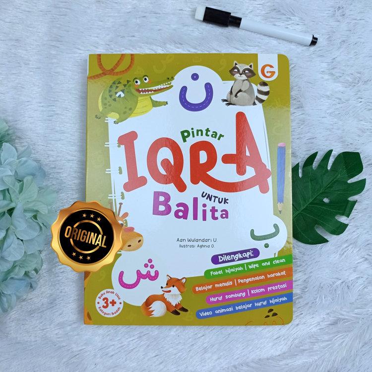 Buku Boardbook Pintar Iqra Untuk Balita