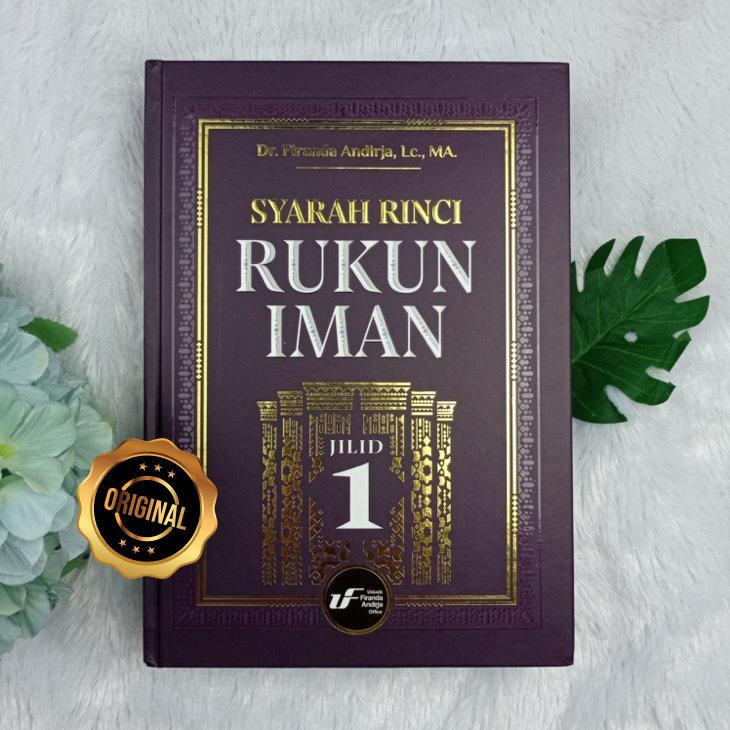 Buku Syarah Rinci Rukun Iman 1 set 2 Jilid