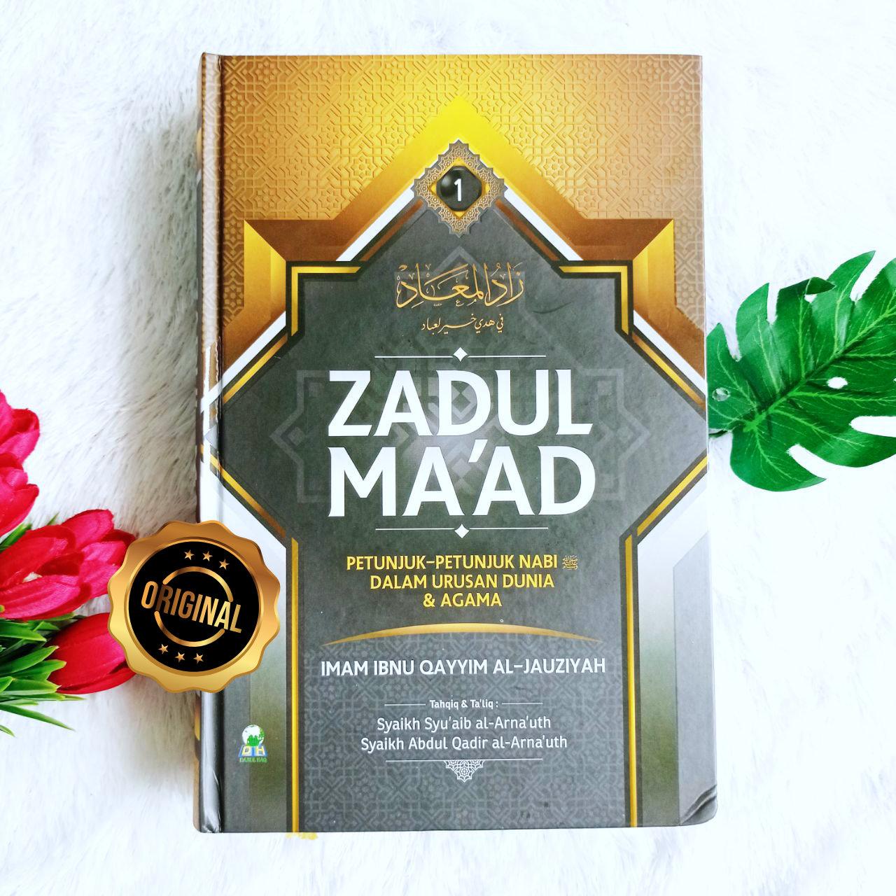 Buku Zadul Ma'ad Petunjuk Nabi Dalam Urusan Dunia Dan Agama 1 Set 5 Jilid
