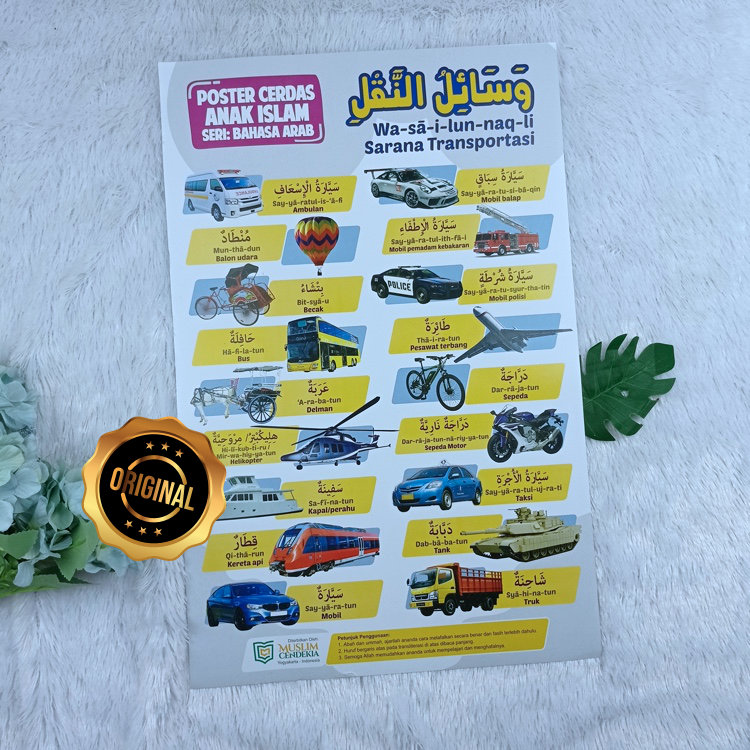 Poster Sarana Transportasi