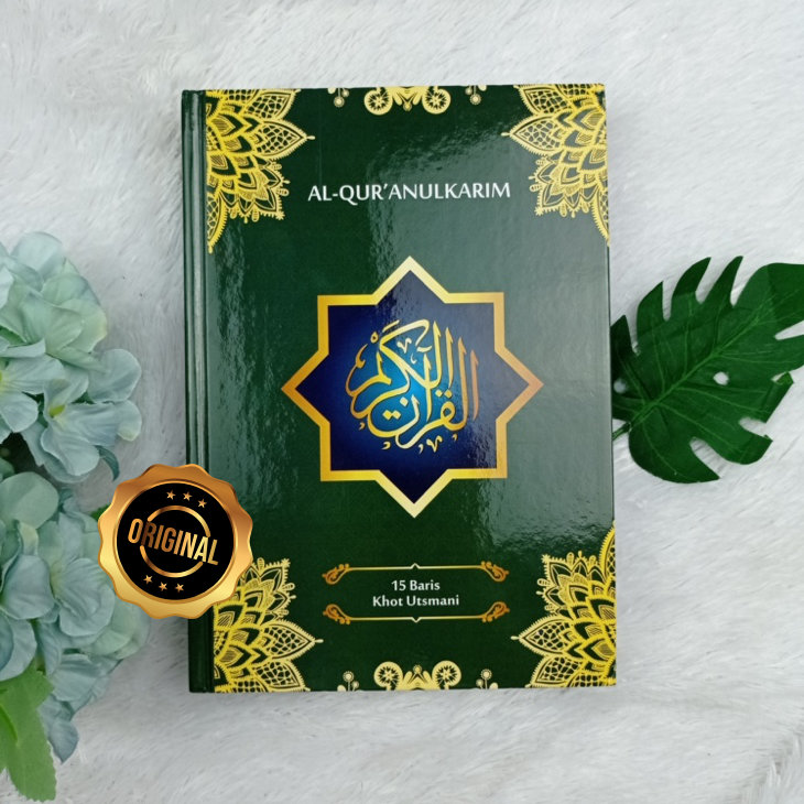 Al-Qur'an Mushaf Samsia 15 Baris Khot Utsmani Ukuran A5