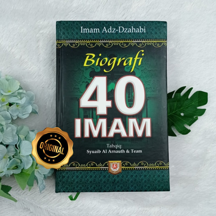 Buku Biografi 40 Imam Kaum Muslimin