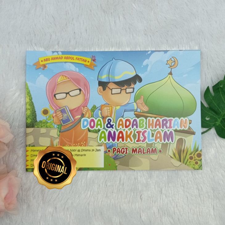 Buku Anak Doa Dan Adab Harian Anak Islam Pagi Malam