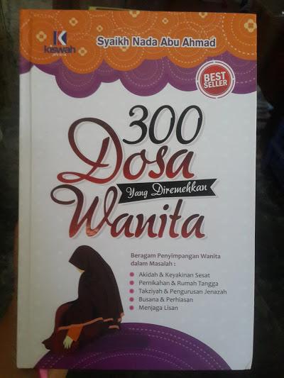 Buku 300 Dosa Yang Diremehkan Wanita Cover