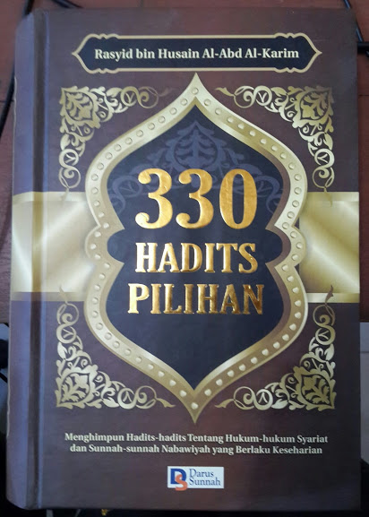 Buku 330 Hadits Pilihan Beserta Penjelasan Dan Faidah Cover