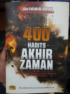 Buku 400 Hadits Akhir Zaman Cover