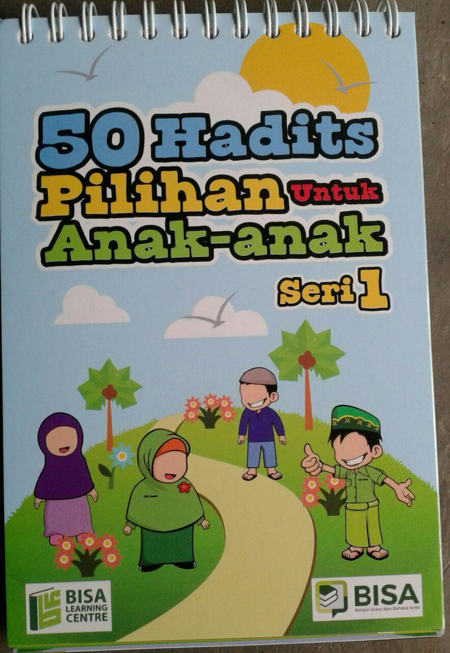 Buku Poster Kalender 50 Hadits Pilihan Untuk Anak Seri 1 isi