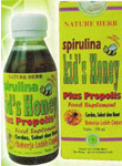 Herbal Spirulina Kid Honey Plus Porpolis