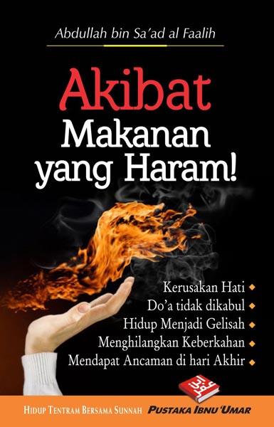 Buku Saku Akibat Makanan Yang Haram Cover