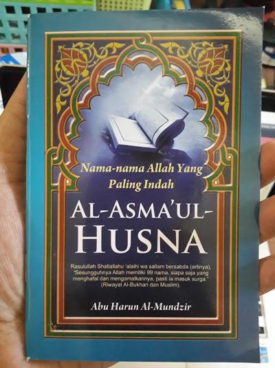 Buku Saku Al-Asmaul Husna Cover