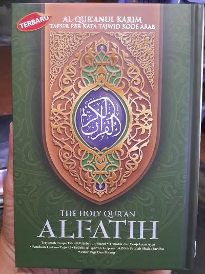 Al-Qur'anul Karim Tafsir Perkata Tajwid Kode Al-Fatih A5 Cover