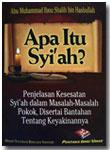 Buku Saku Apa Itu Syi'ah Penjelasan Kesesatan Dan Bantahan