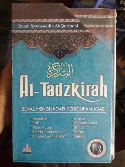 Buku At-Tadzkirah Bekal Menghadapi Kehidupan Abadi Cover