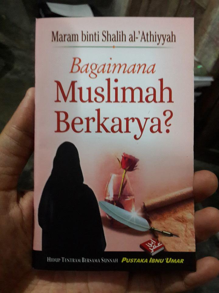 Buku Saku Bagaimana Muslimah Berkarya Cover