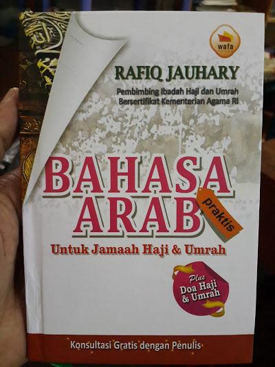 Buku Bahasa Arab Praktis Untuk Jamaah Haji Dan Umrah Cover
