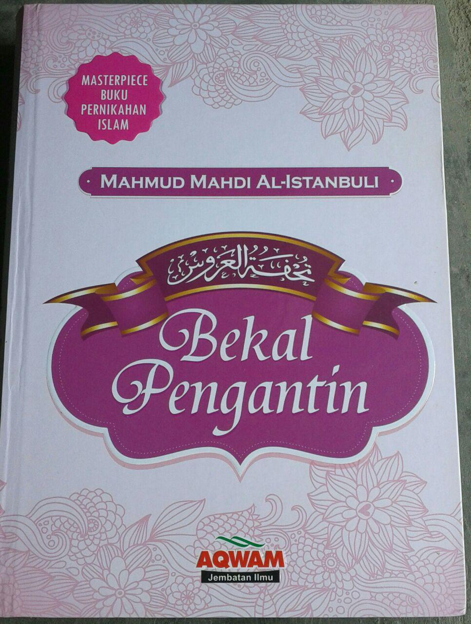 Buku Masterpiece Pernikahan Islam Bekal Pengantin cover 2