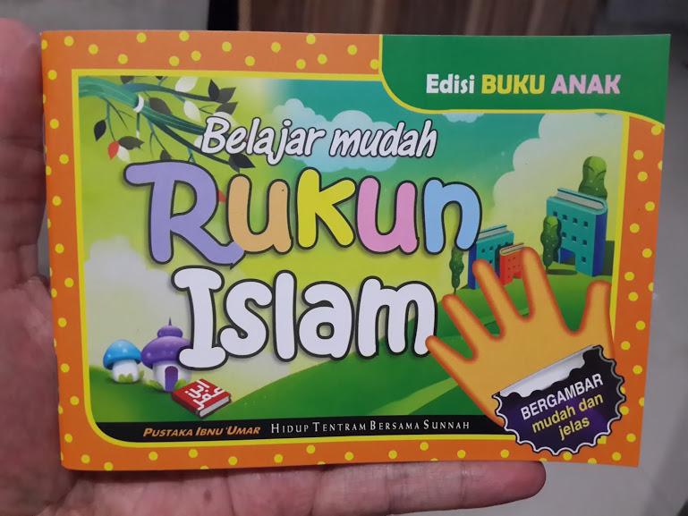 Buku Anak Belajar Mudah Rukun Islam Cover