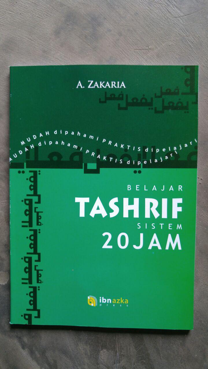 Buku Belajar Tashrif Sistem 20 Jam cover