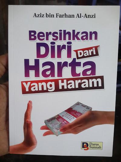 Buku Bersihkan Diri Dari Harta Yang Haram Cover
