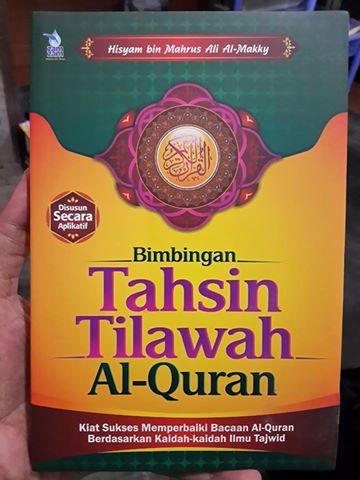 bimbingan tahsin tilawah Al-Quran buku cover