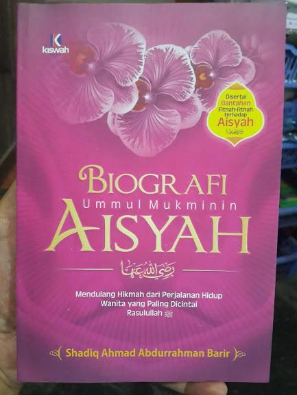 Buku Biografi Ummul Mukminin Aisyah Cover