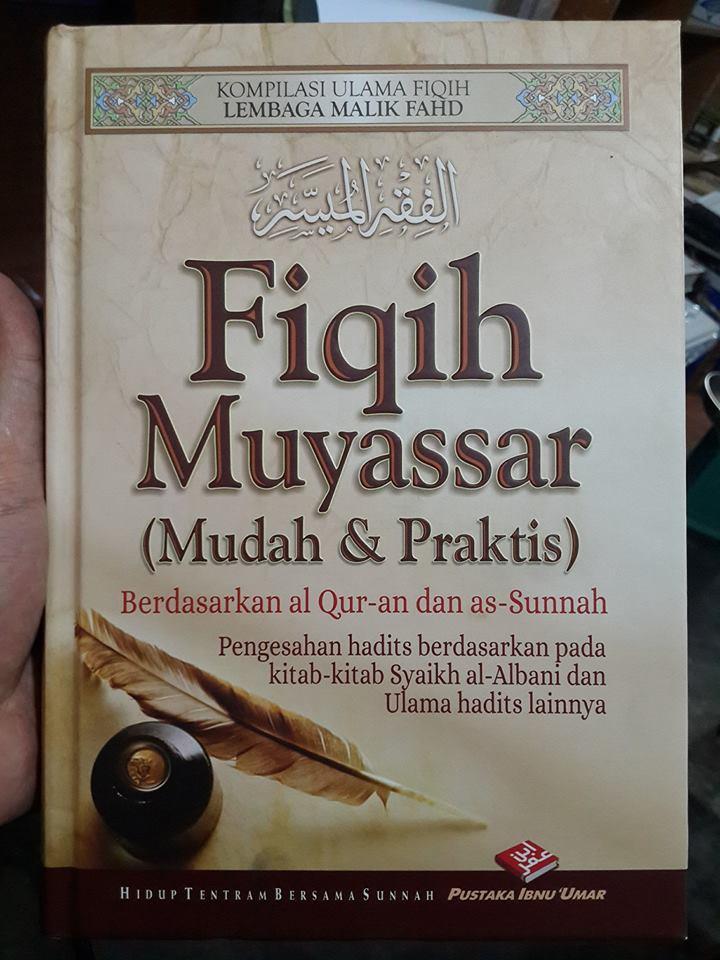 buku fiqih muyassar cover