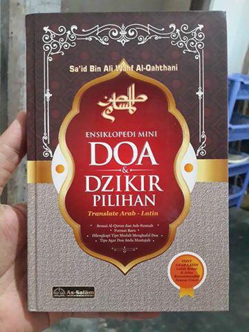 doa dan dzikir pilihan translate arab latin buku cover