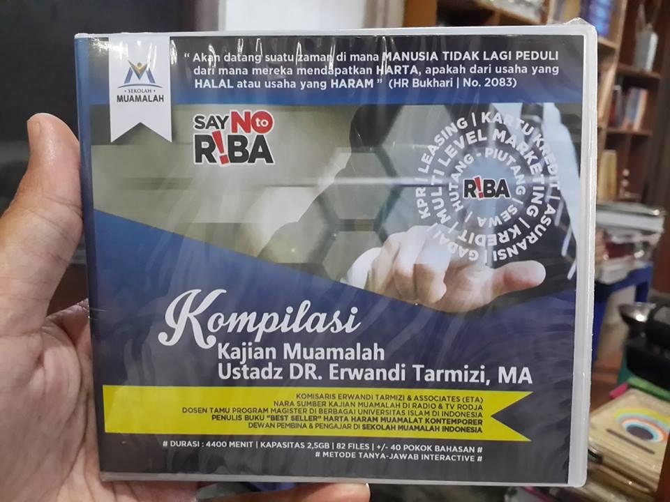 DVD MP3 Kompilasi Kajian Muamalah DR. Erwandi Tarmizi, MA Cover