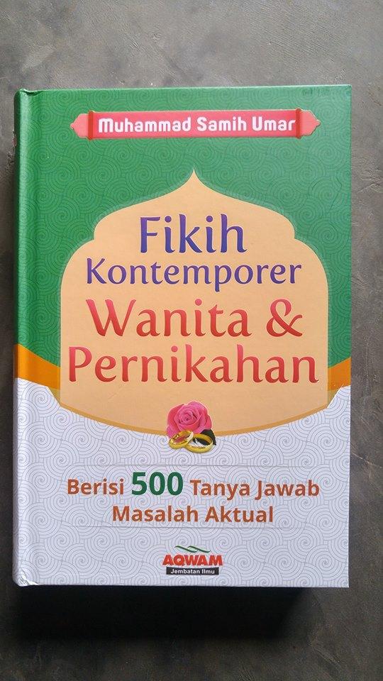 Buku Fikih Kontemporer Wanita & Pernikahan 500 Tanya Jawab cover