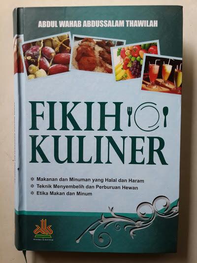Buku Fikih Kuliner Cover