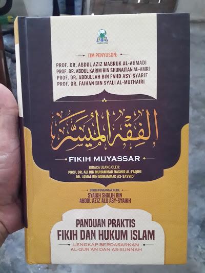 Buku Fikih Muyassar Panduan Praktis Fikih Dan Hukum Islam Cover