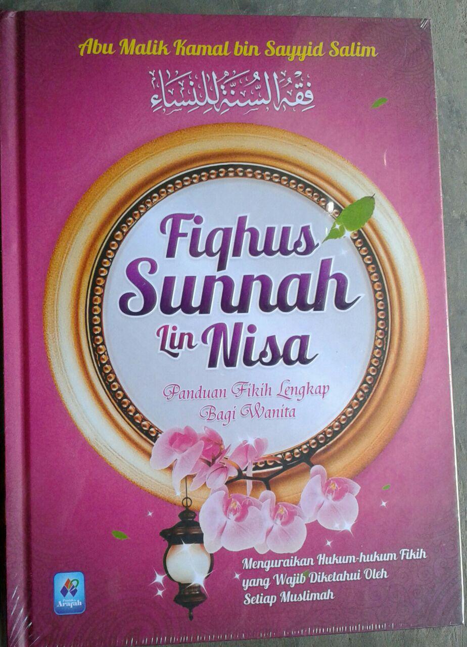 Buku Fiqhus-Sunnah LinNisa Panduan Fikih Lengkap Bagi Wanita cover 2