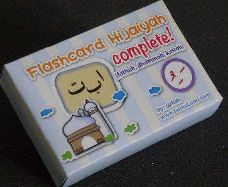 Flash Card Hijaiyah Complete Cover