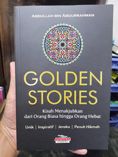 Buku Golden Stories Kisah Menakjubkan Cover