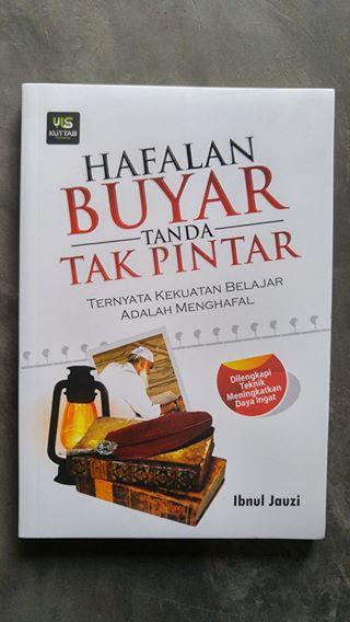 Buku Hafalan Buyar Tanda Tak Pintar cover