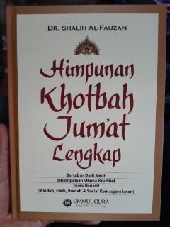 Buku Himpunan Khotbah Jum'at Lengkap Cover