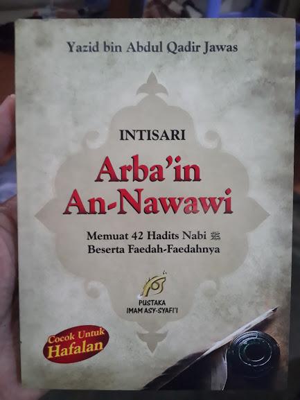 Buku Intisari Arba'in An-Nawawi Cover