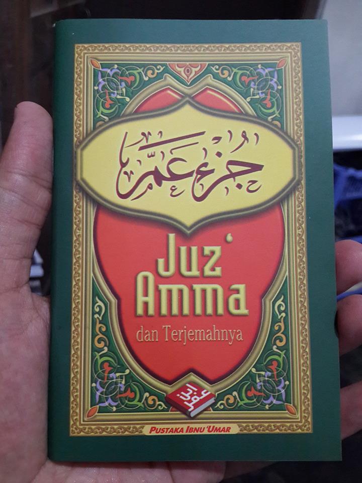 Buku Saku Juz Amma Dan Terjemahnya Lux Cover