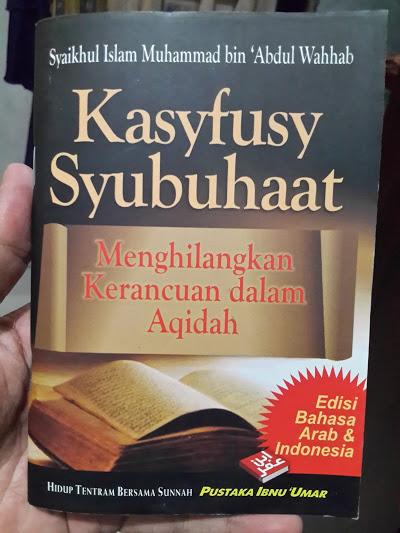 Buku Saku Kasyfusy Syubuhaat Menghilangkan Kerancuan Aqidah Cover