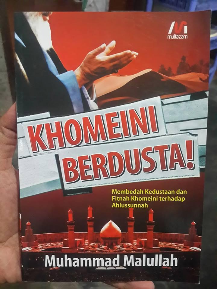 Khomeini Berdusta Terhadap Ahlussunnah buku cover 2