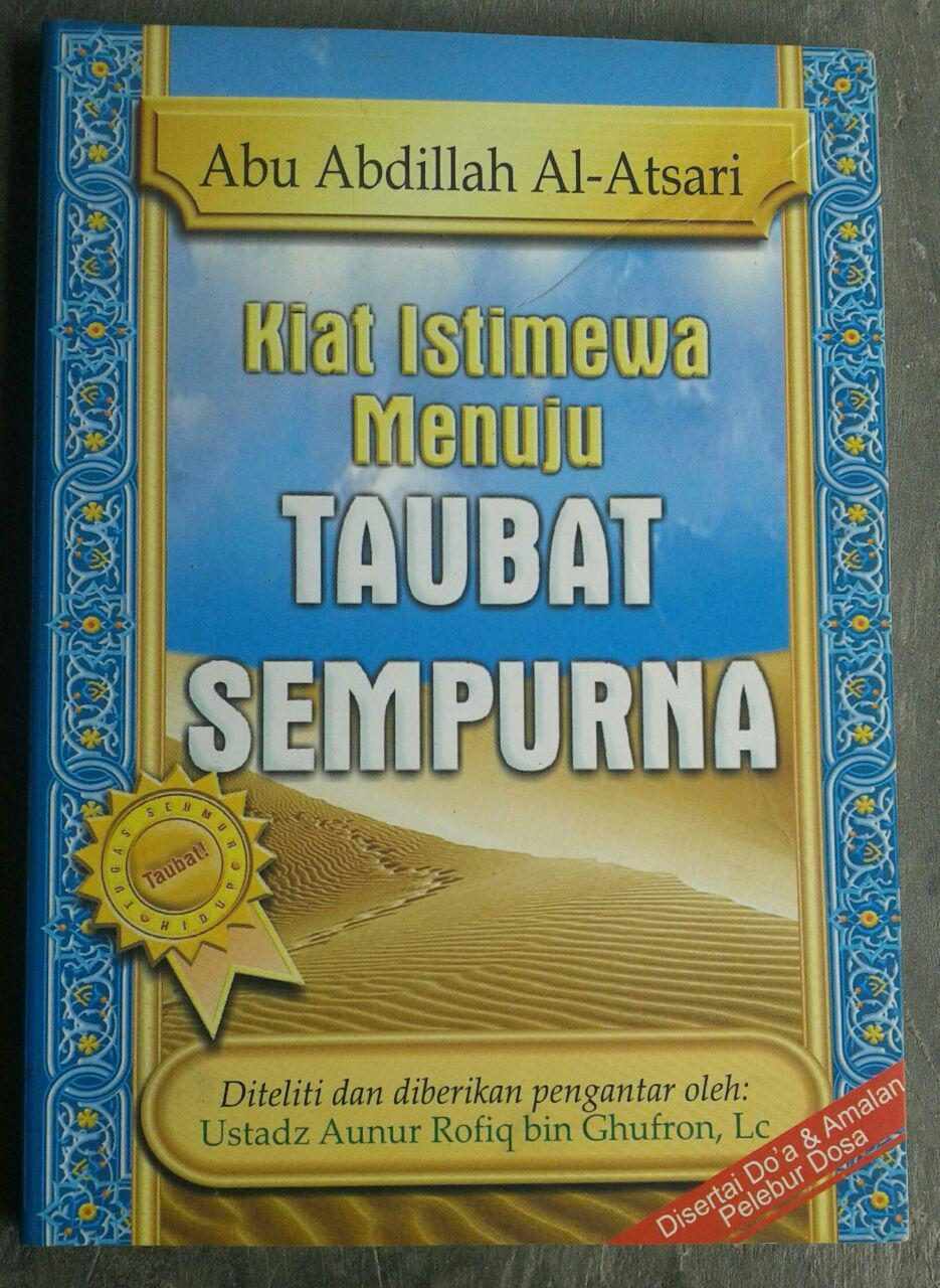 Buku Kiat Istimewa Menuju Taubat Sempurna cover 2
