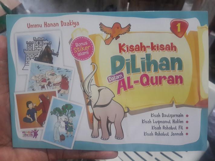 Buku Anak Kisah-Kisah Pilihan Dalam Al-Qur'an Cover