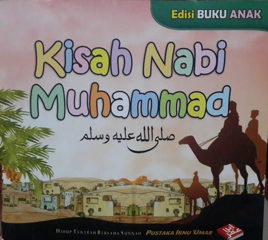 Buku Anak Kisah Nabi Muhammad Cover