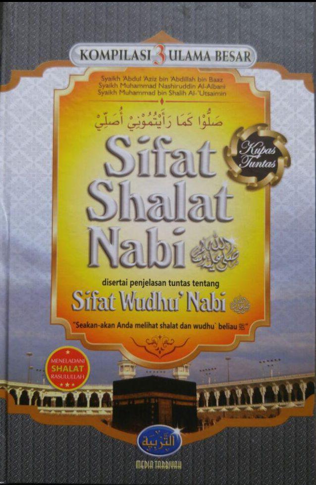 Buku Kompilasi 3 Ulama Besar Sifat Shalat Nabi cover