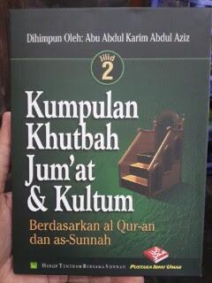 Buku Kumpulan Khutbah Jumat Dan Kultum 2 Cover