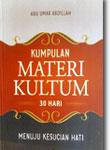 kumpulan materi kultum 30 hari buku